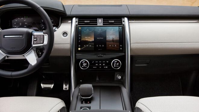 7 kişilik teknoloji üssü; Yeni Land Rover Discovery ile tanışın 16