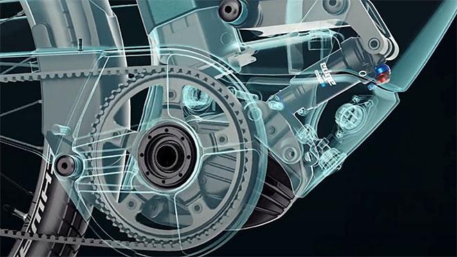 ozel suspansiyon sistemiyle fark yaratan elektrikli bisiklet 3