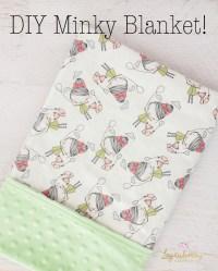 Baby Minky Blanket!  Loganberry Handmade