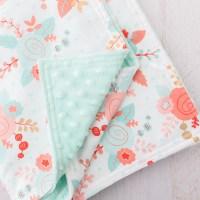 Minky Baby Blanket Tutorial  Loganberry Handmade
