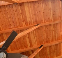 T&G Ceiling  Logangate Timber Homes