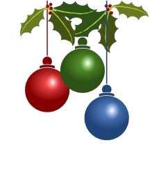 christmas ornament clip art images [ 1700 x 2200 Pixel ]