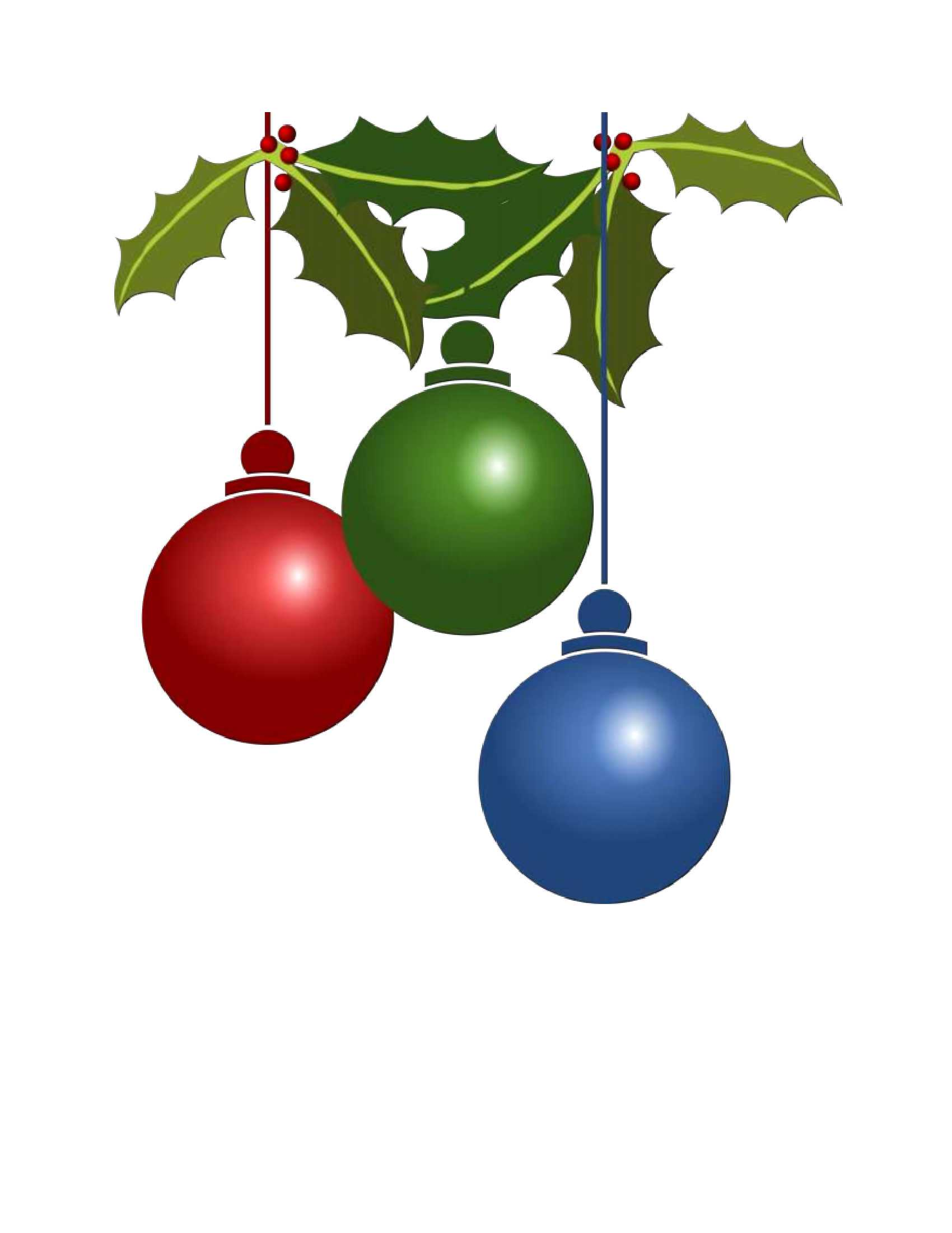 hight resolution of christmas ornament clip art images