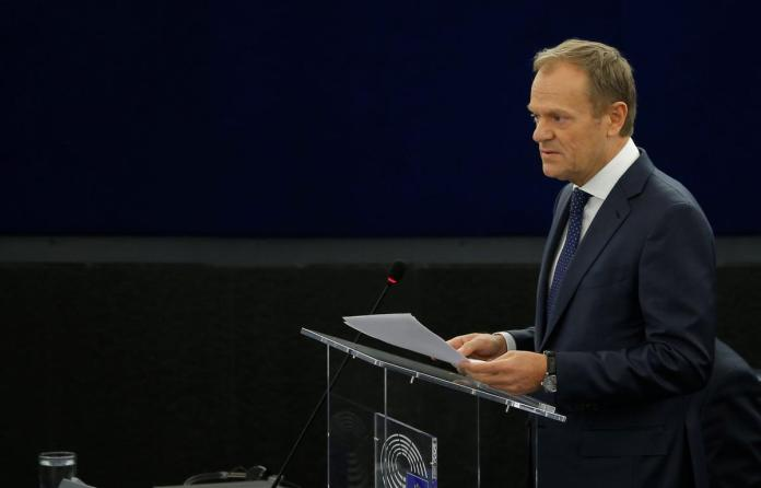 [NEWS] EU's Tusk calls for patience with Britain over Brexit – Loganspace AI