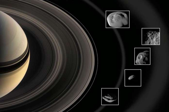 [Science] The weird and wonderful inner moons of Saturn revealed by Cassini – AI