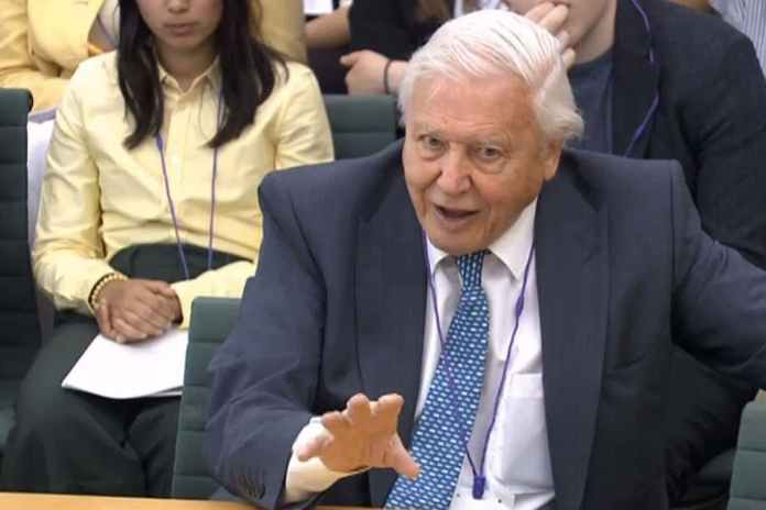 [Science] David Attenborough on climate change: 'We cannot be radical enough' – AI