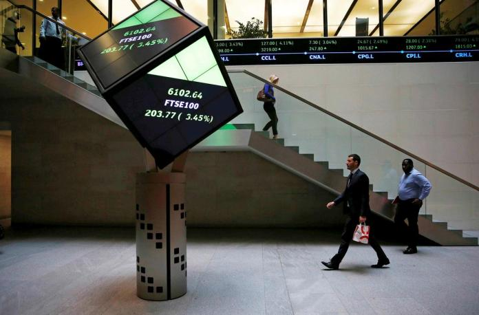 [NEWS] Shares flat as investors digest economic data, dollar dips for third day – Loganspace AI