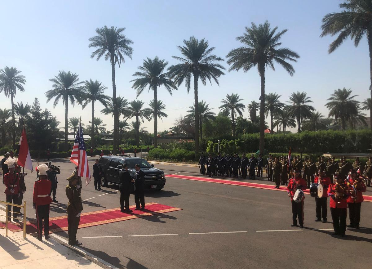 [NEWS] Pentagon chief visits Iraq as U.S. troops withdraw from Syria – Loganspace AI