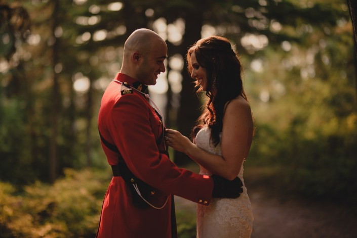 Canadian mountie wedding whistler