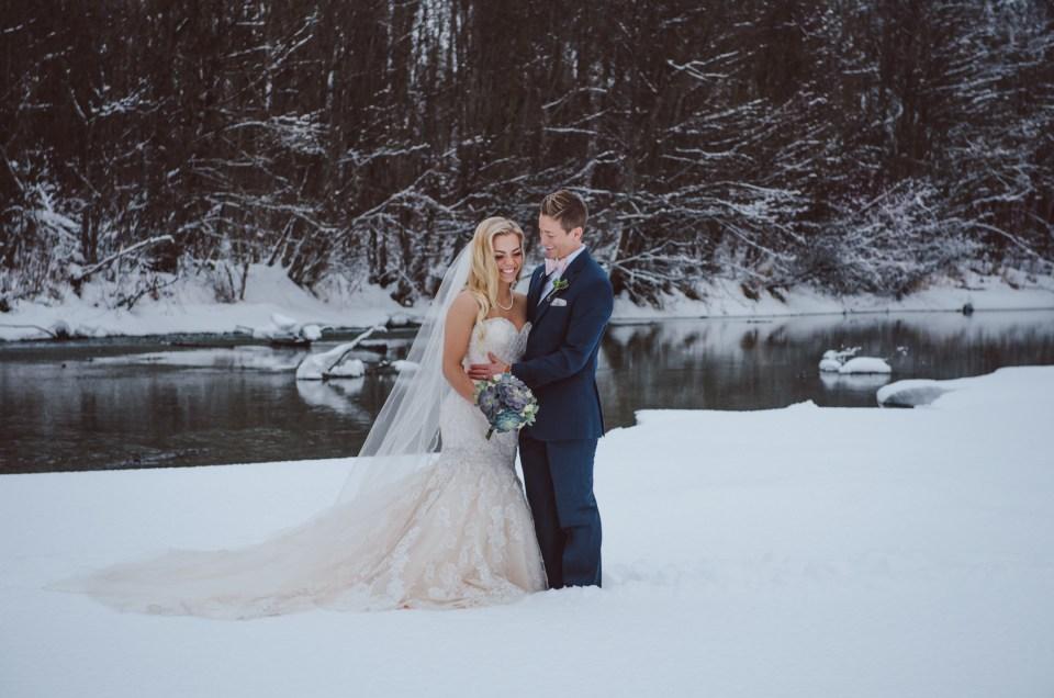 Log Cabin Wedding – Whistler, BC –  Tara + Magi