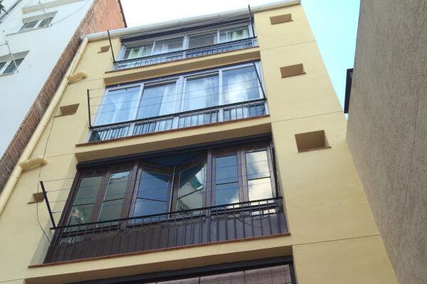 Rehabilitacion de fachadas Barcelona | Calle Séneca