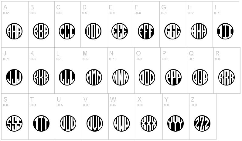 15 best free monogram