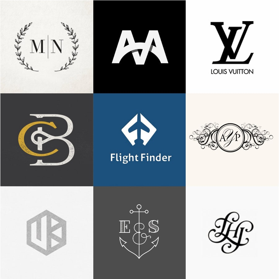 20 creative monogram ideas