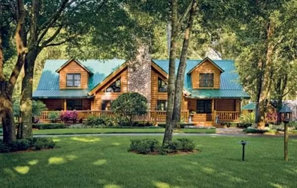 log cabin homes & kits exterior