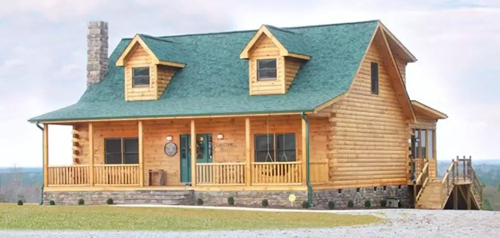 Energy Efficiency of Log Homes and Cabins  The Original