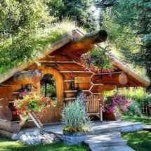 Tiny Log Cabin Home