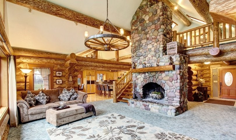 log cabin living room decorating ideas modern small 2018 22 luxurious interiors you have to see hub classic interior