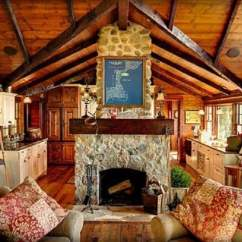 Log Cabin Living Room Decorating Ideas Short Curtains In 22 Luxurious Interiors You Have To See Hub Cozy