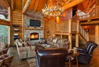 22 Luxurious Log Cabin Interiors You HAVE To See - Log ...