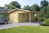 garage + carport 6 x 6 m, 4,246.00  - Log Cabins, Sheds ...