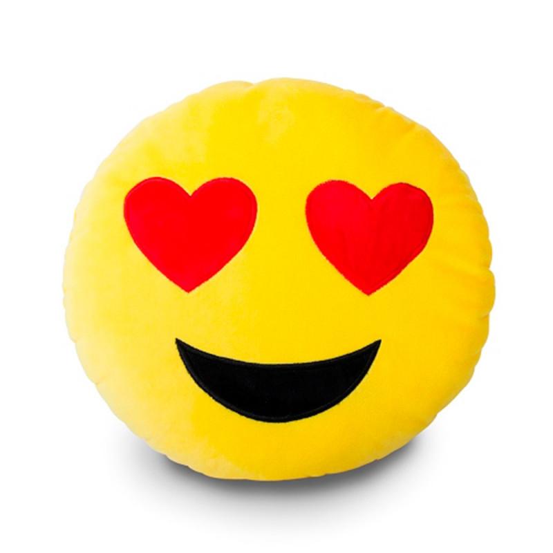 Coussin rigolo en forme de smileys moticne sur Logeekdesign