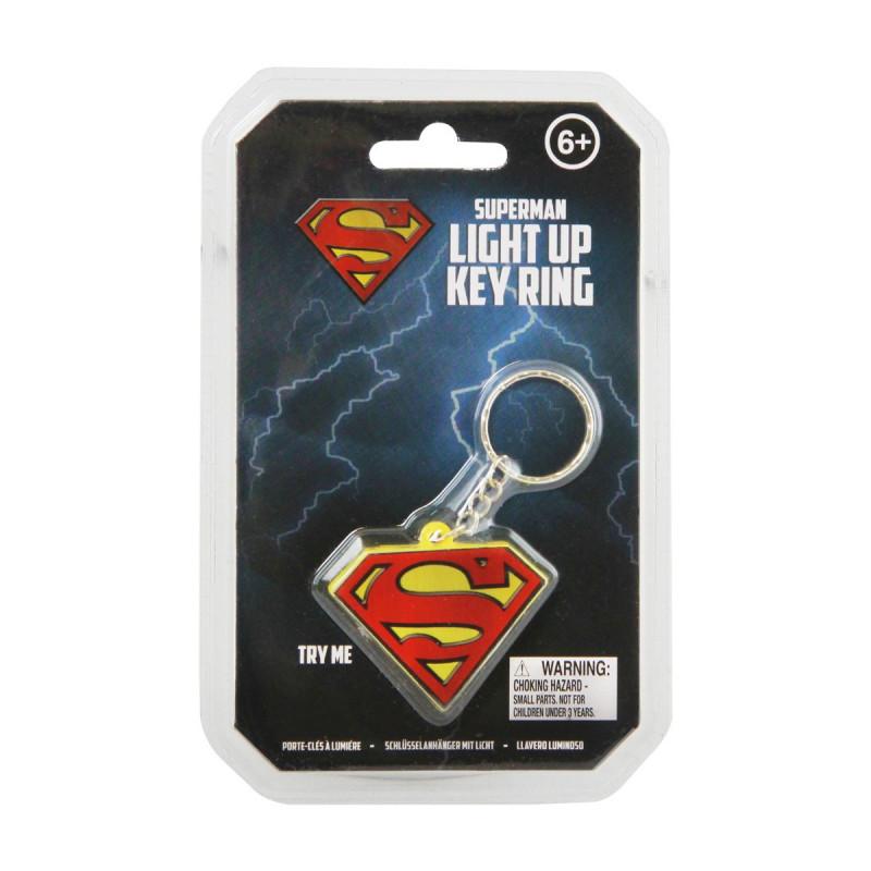 Porte Cls Lumineux Leffigie Du Logo De Superman Sur
