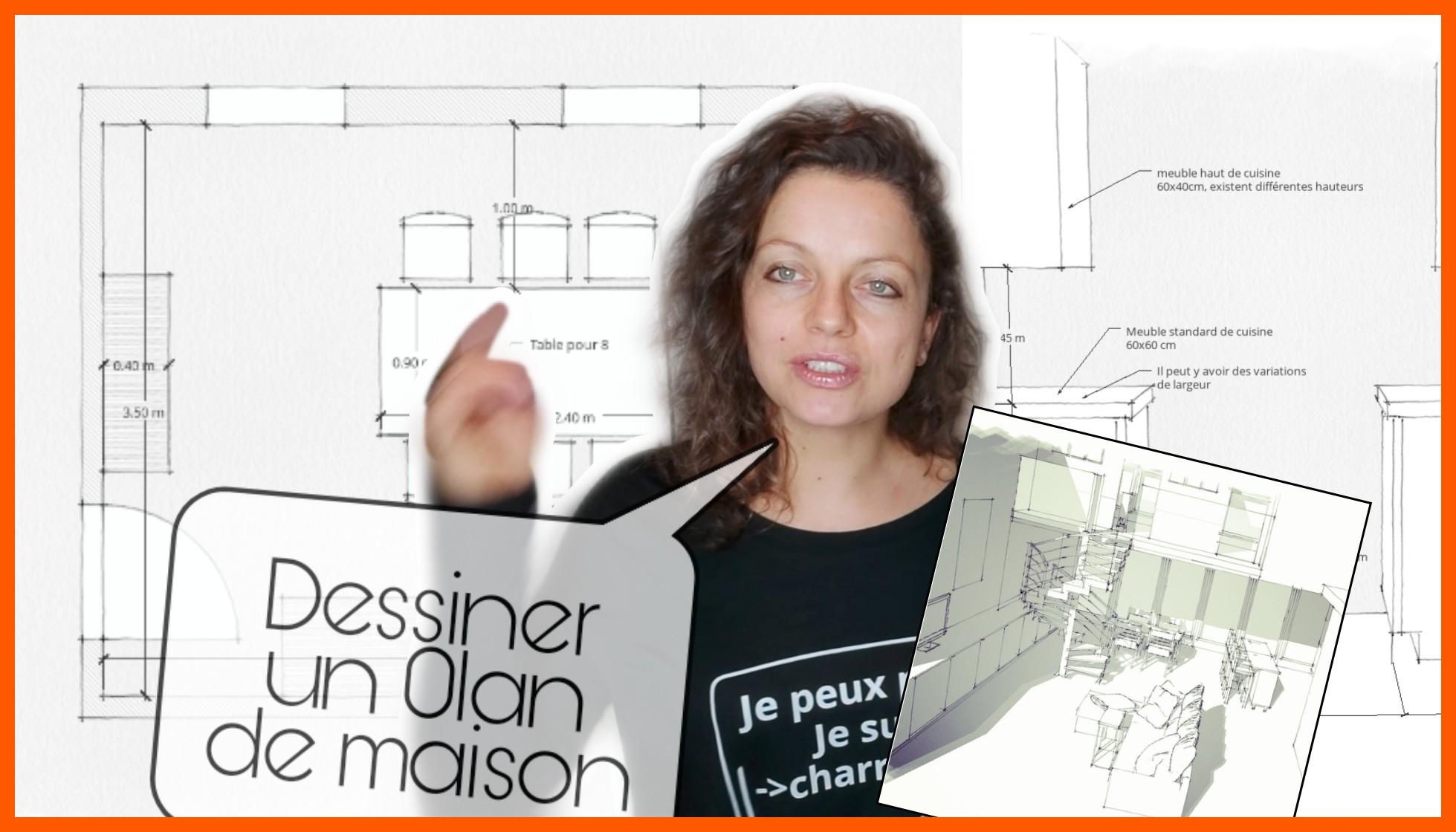 Dessiner Sa Maison En Plan Facade Coupe Et 3d Petit Tuto