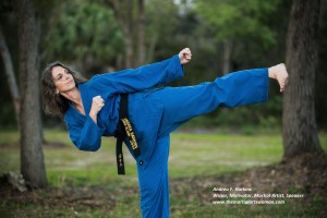 Andrea Harkins - The Martial Arts Woman