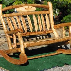 Diy Rocking Chair Kit Christmas Covers The Range Company Profile S E Tyler Log Furniture