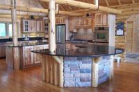 Kitchens In Log Homes | Room Ornament