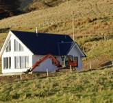 Modular timber frame - Wester Ross