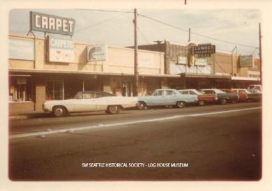 16th Ave S, south of Roxbury Street, 1973 SWSHS 2005.023.0457