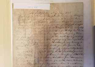 Thumbnail for the post titled: Doc Maynard Letters Donation
