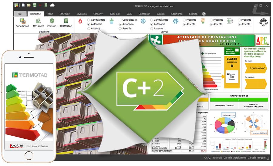 TERMOLOG integra il Motore CENED +2.0