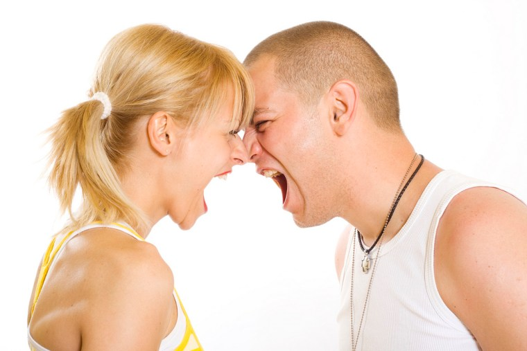 bad marriage, how to fix marriage, Angry  couple yelling at each other.