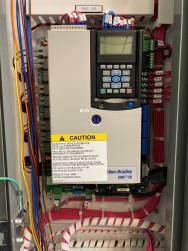 Allen-Bradley SMC-50 installed.