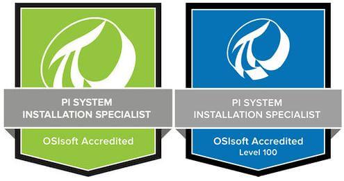 LSI OSIsoft Installation Badge