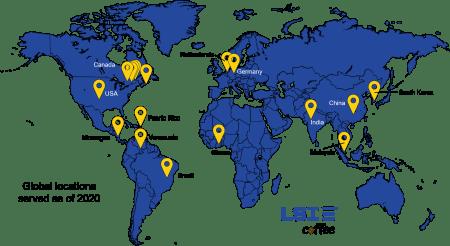 LSI Global Service Map