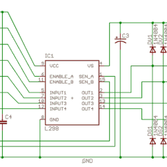 L298 H Bridge Circuit Diagram Gibson Humbucker Wiring Stokes Projblog The Motor Controller Project Board Schematic