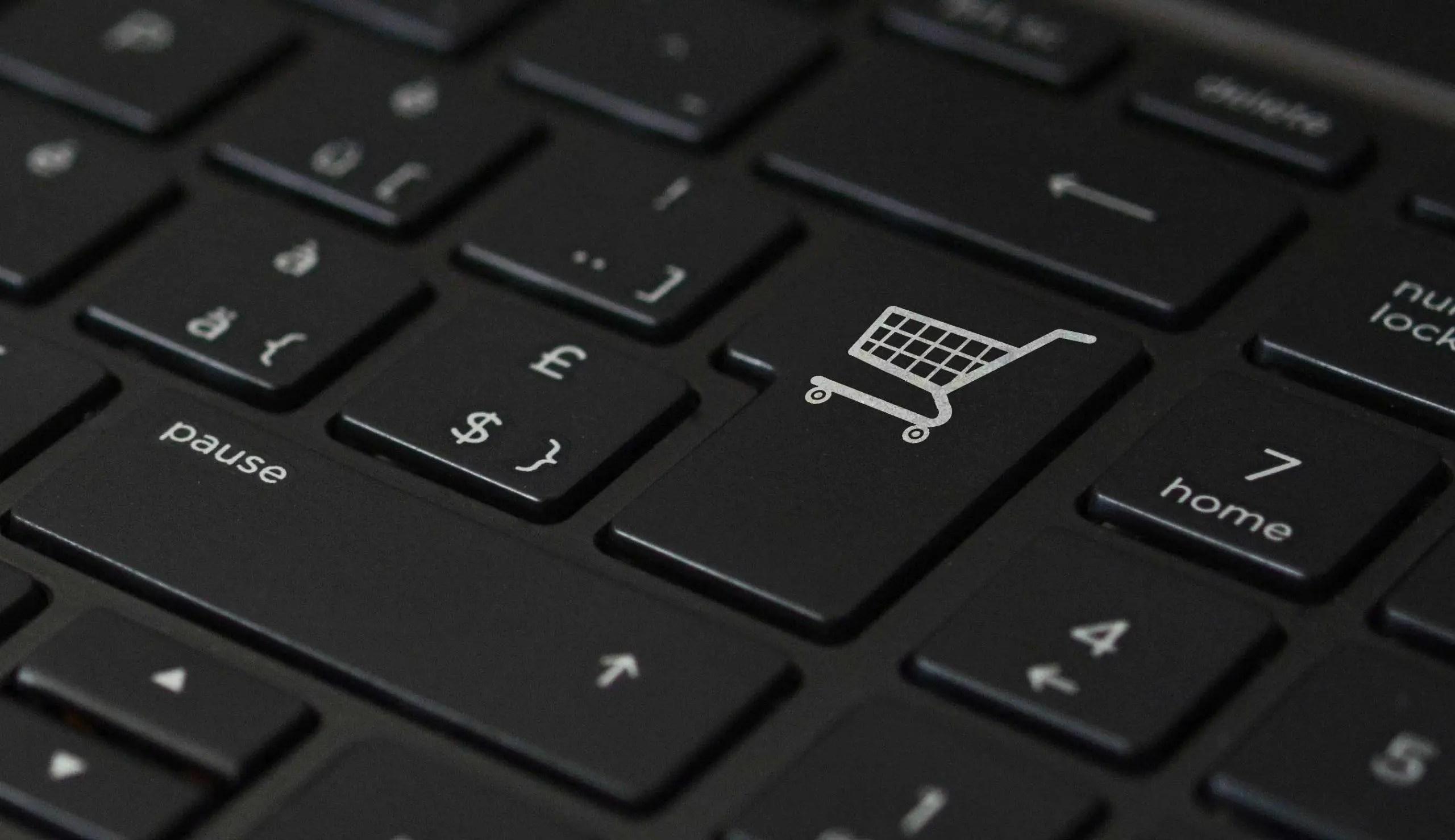 clavier e-commerce