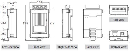 Converters-Interfaces Modbus tGW-715