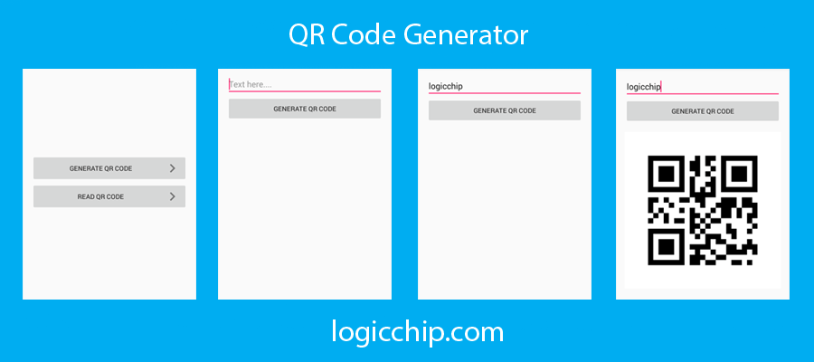 Qr Code Reader for Android And Qr Code Generator for Android