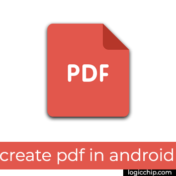 Itext 5 - creating custom PDF in android - Logicchip