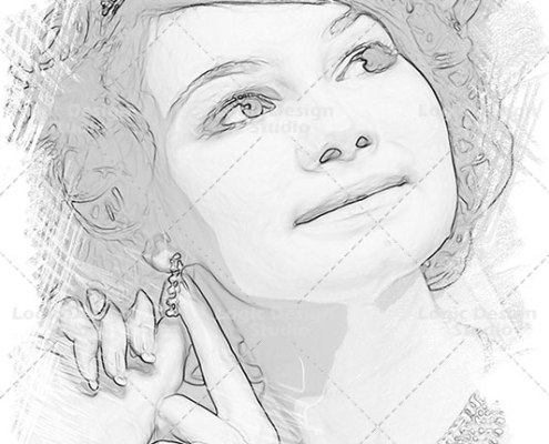 sketch effects pencil shading