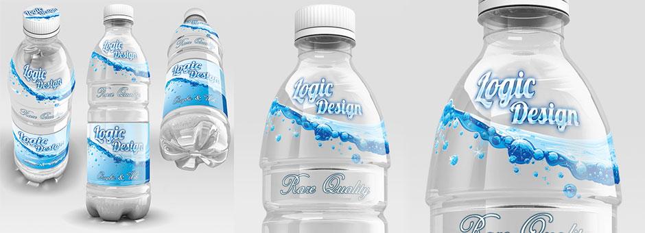 Beverage Bottle Mock-Up
