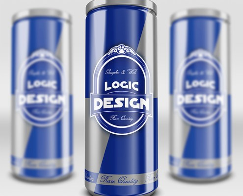 energy drink mock up