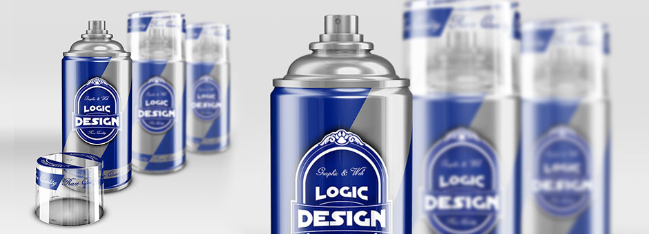 Spray Cans Mock Up