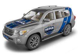 SUV Crossover Mock-Up