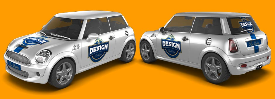 Mini Car Mock-Up preview