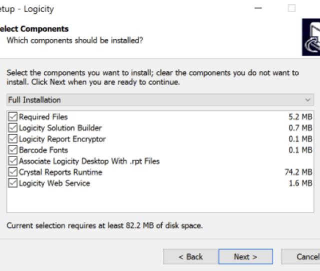 Logicity User Guide Installation Step 6